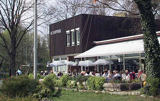 Das Clubhaus des SCGothia